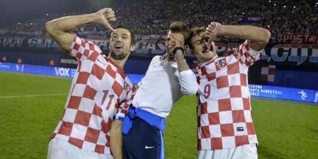 Mandzukic, Srna, Croatie, Vatreni