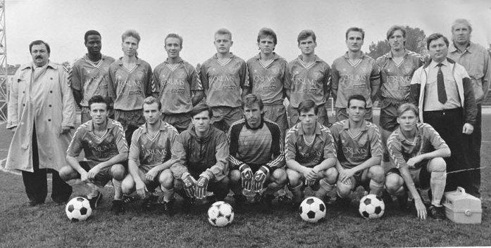 La belle époque pour le Fossoyeur. Une vie de football avec son Skonto. | © skontofc.com