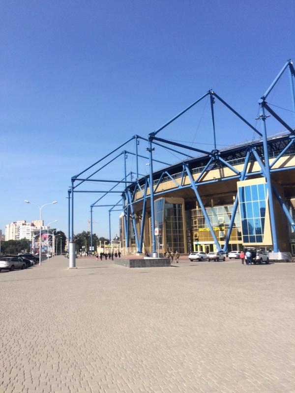Le très moderne Stadion Metalist.