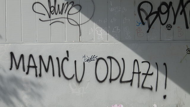 Un message plein d'amour pour Mamic | © Branko Radovanović