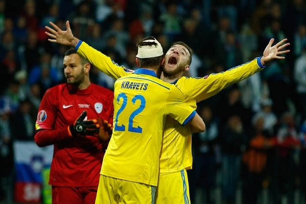 ukraine - slovénie