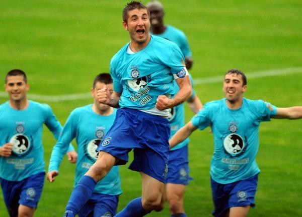 George Galamaz, ancien joueur du Rapid évoluant avec l'Unirea Urziceni. | © prosport.ro