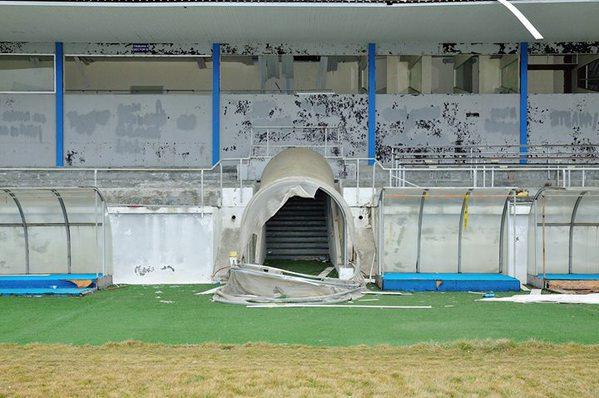 Peut-on croire qu'une équipe européenne jouait ici il y a de cela à peine quatre ans ? | © prosport.ro