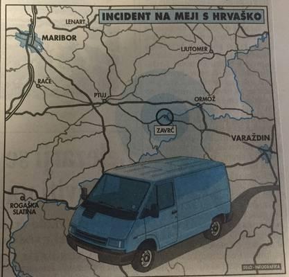 zavrc, slovénie