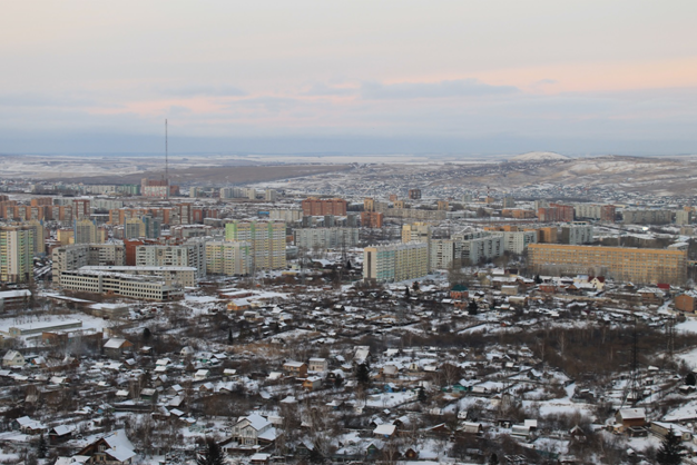 Krasnoïarsk, capitale d'une région grande comme 4x la France | © Adrien Morvan / Footballski