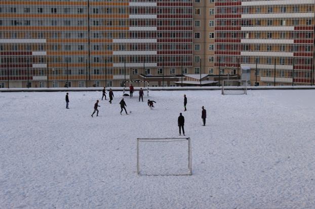 Il reste quelques adeptes du football vrai® qui ne jouent pas en salle | © Adrien Morvan / Footballski