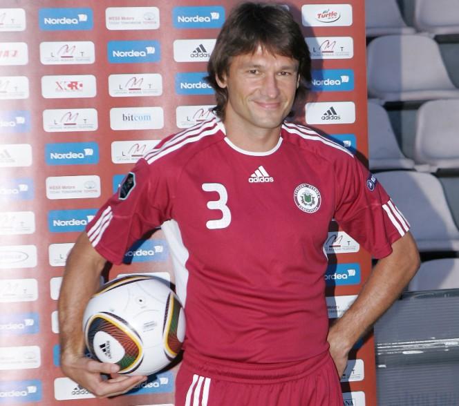 Vitālijs Astafjevs, entraîneur de l'année en Lettonie pour Footballski | © LETA