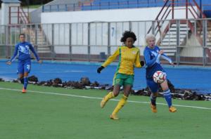 La Brésilienne Danielli Pereira contre le Zorki Krasnogorsk (fckubanotchka.ru)