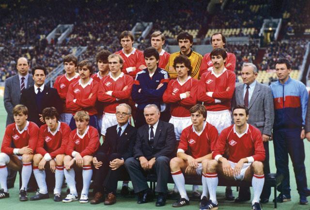 La grande équipe de Beskov.