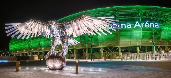 La Groupama Arena, le nouveau bijou de Ferencvaros. / © Marcell Katona