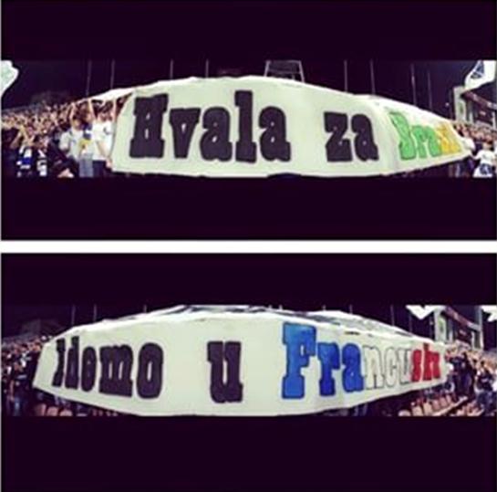 « Hvala za Brazil / Idemo u Francusku »