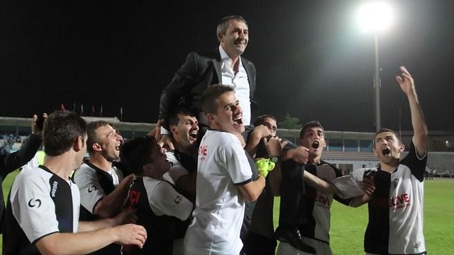 Le KF Laçi, dernier vainqueur de la coupe d'Albanie