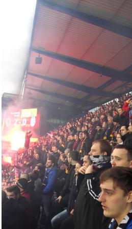 Les Ultras du Sparta Praha | © Ghislain Corréa