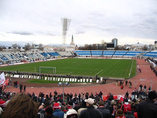 Le Shinnik, stade du Shinnik Yaroslavl / © Zac Allan