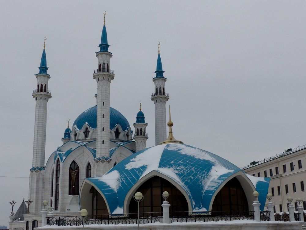 La Mosquée Qolsharif de Kazan. / © Albertine Gros