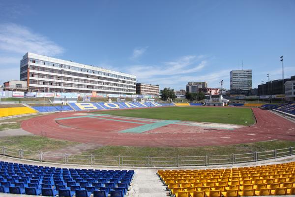 Le Stadion Trud, stade du Volga Ulyanovsk. / misanec.ru