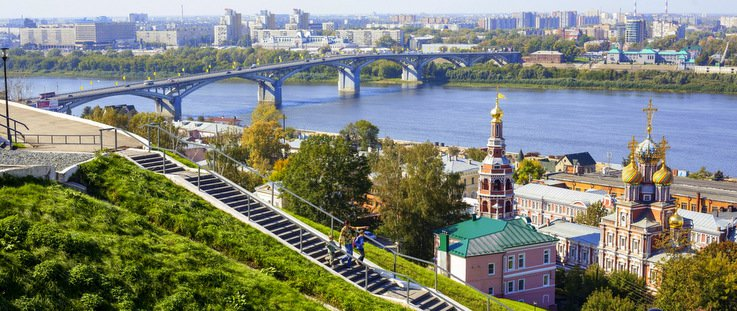 La diversité selon Nizhniy-Novgorod. / travelallrussia.com