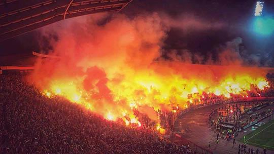 Zvezda vs. Partizan | ©  Telegraf