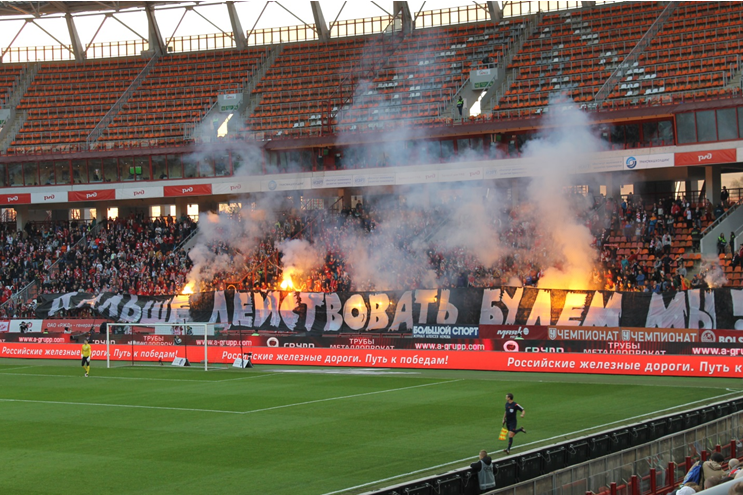 « Désormais, c'est nous qui allons agir » : les ultras du Spartak perdent patience | © Adrien Morvan / Footballski