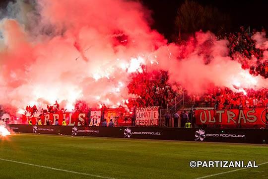 Le derby de Tirana c'est SUPER sympa