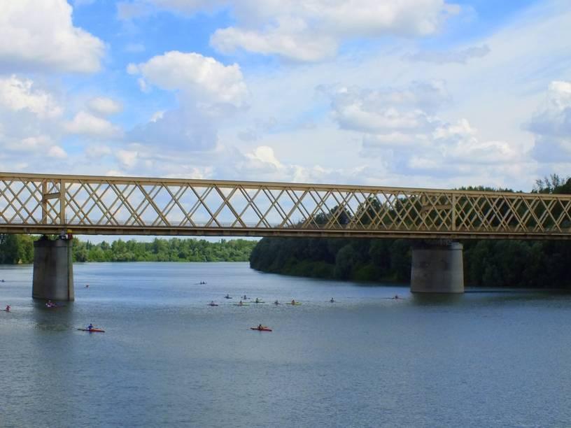 Le fameux pont de la Tisza à Senta |© zenta-senta.co.rs