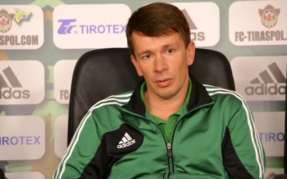 Vlad Goian, nouveau coach du Zaria | © Moldovasport.md