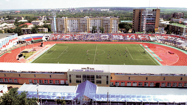 L'ancien stade Svetotekhnika © Site officiel du Mordovia