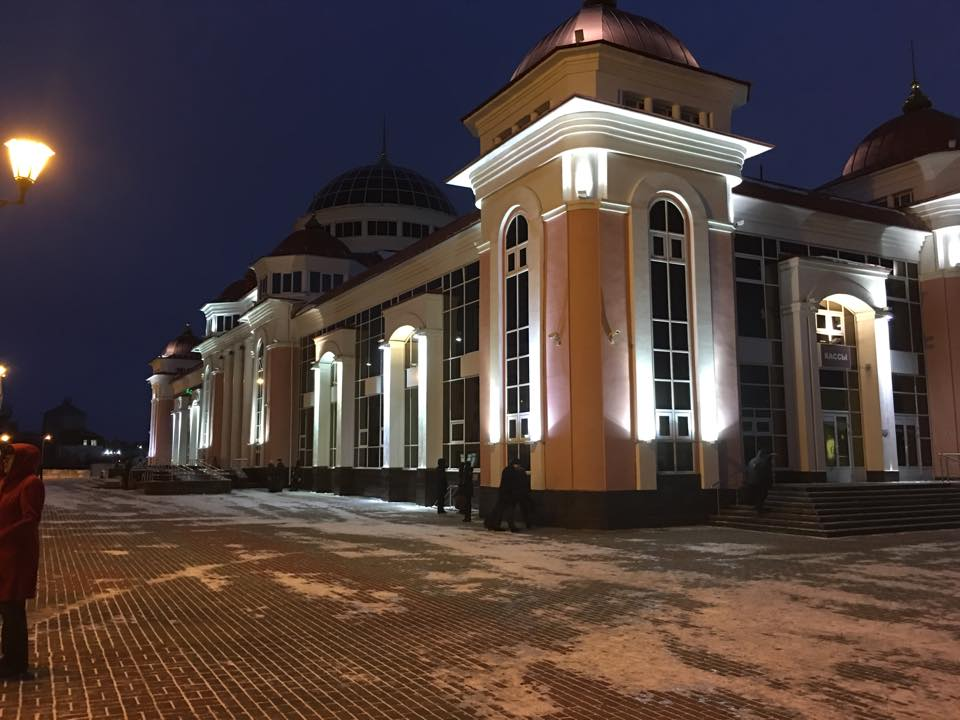 La gare de Saransk © Adrien Laëthier