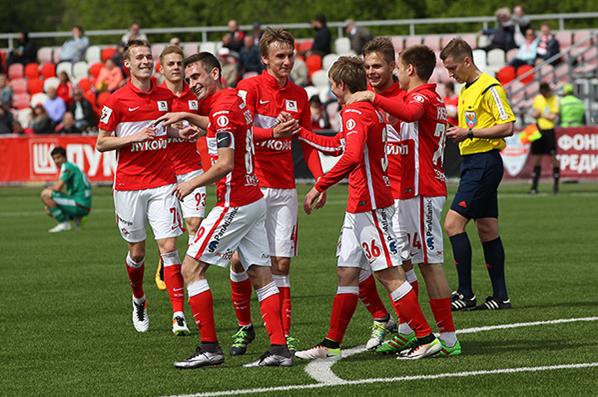 Le Spartak détient aussi le record de titres chez les jeunes, à égalité avec le Dinamo |© spartak.com