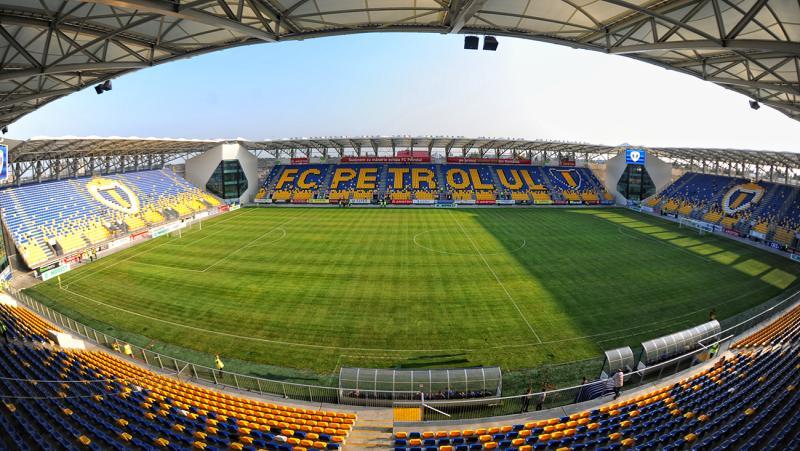 Le stade ultra moderne du Petrolul, aujourd'hui bien trop cher pour son équipe | © stadiumguide.com