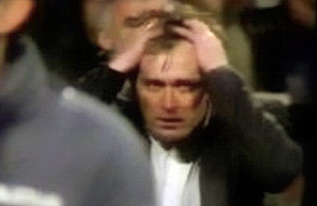 La réaction d'Ivica Osim après le but de Videoton | © historija.ba