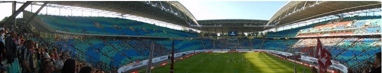 Panorama de l'ex-Zentralstadion pendant la rencontre | © Julien Duez/Footballski