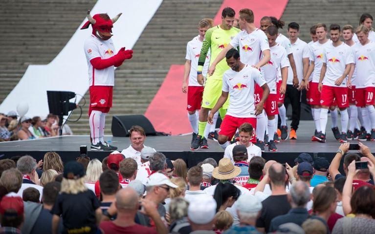 Tout un public s'est trouvé de nouveaux héros | © RB Leipzig