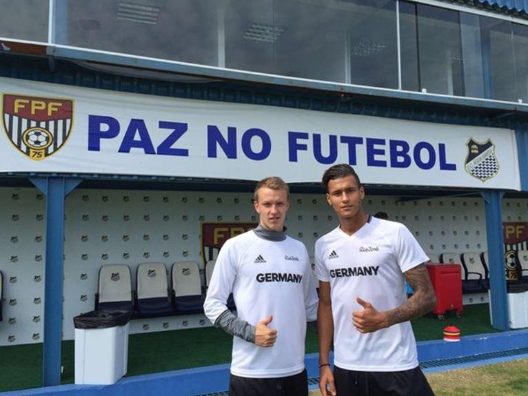 Lukas Klostermann et Davie Selke à Rio | © RB Leipzig