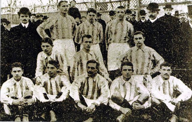Le Ferencvaros en 1905 | © tempofradi.hu
