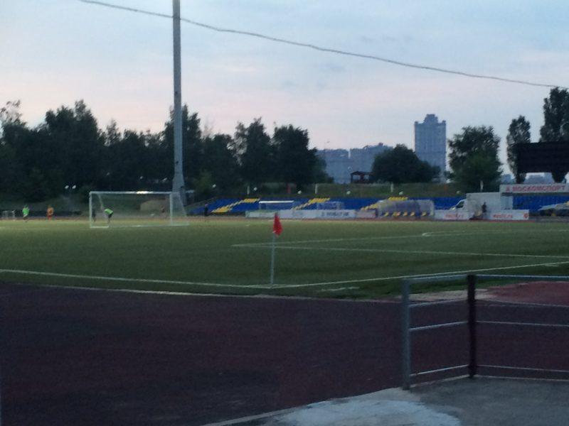 Le Yantar Stadion (stade de l'Ambre) de Strogino | © Adrien Laëthier