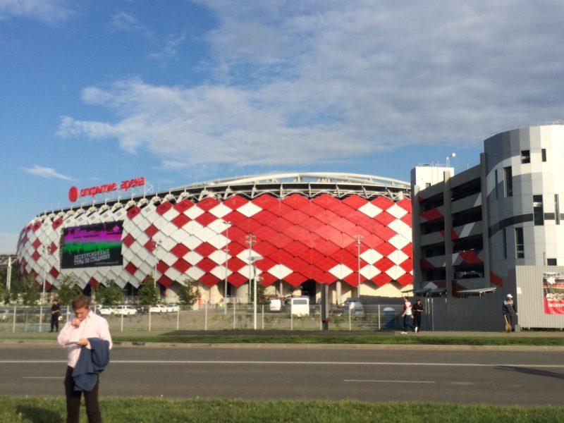L'Otktyrtie Arena, jour de match (vs. Ufa 2015) | © Adrien Laëthier
