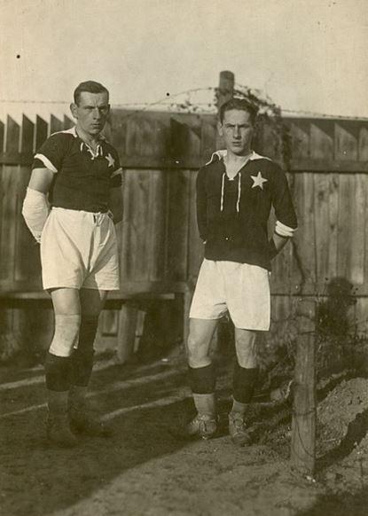 Henryk à Gauche et Jan à droite (photo: HistoriaWisły.pl)