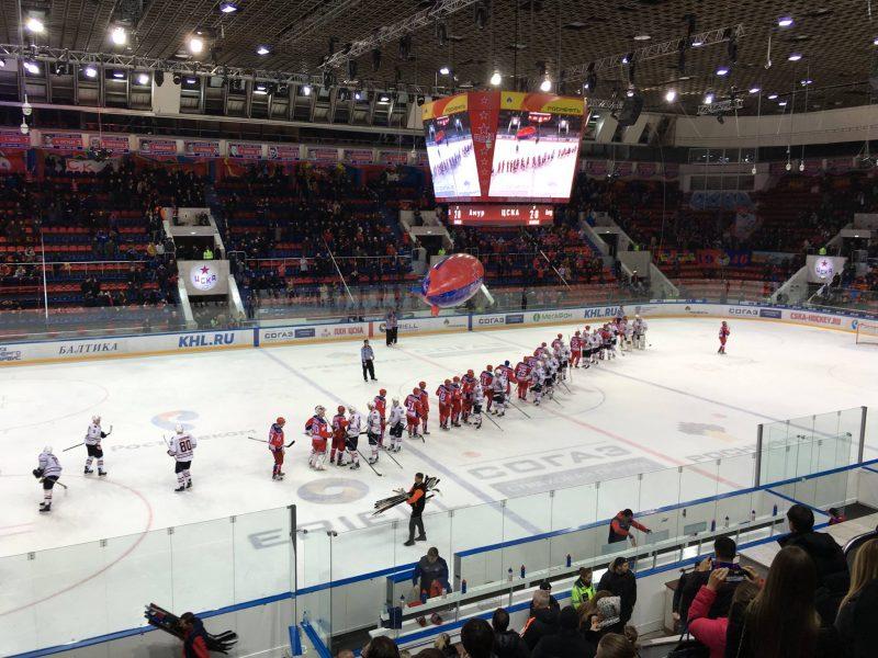 CSKA Moscou - Amur Khabarovsk en KHL | © Adrien Laëthier