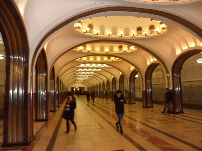Station Mayakovskaya, le soir | © Adrien Laëthier