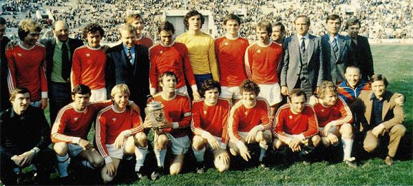 Le SKA Rostov vainqueur de la coupe nationale en 1981 Ⓒ www.greatfootball.com.ua