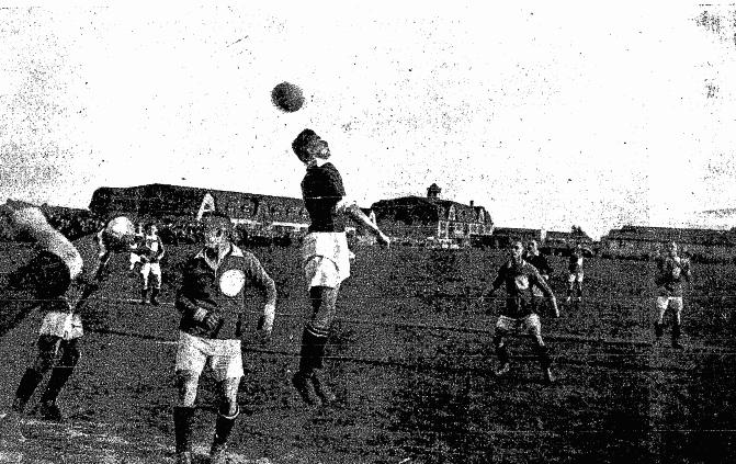 Sokół Toruń vs. Warta Poznań, 1922 | © Przegląd Sportowy nr 24/1922