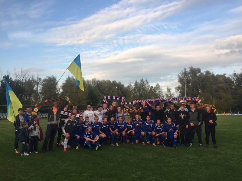 Joueurs et ultras, ensemble © Page FB des ultras du Tavria