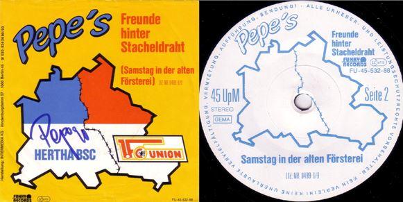 Le fameux 45 tours enregistré par Pepe en 1988 ((c) DR)