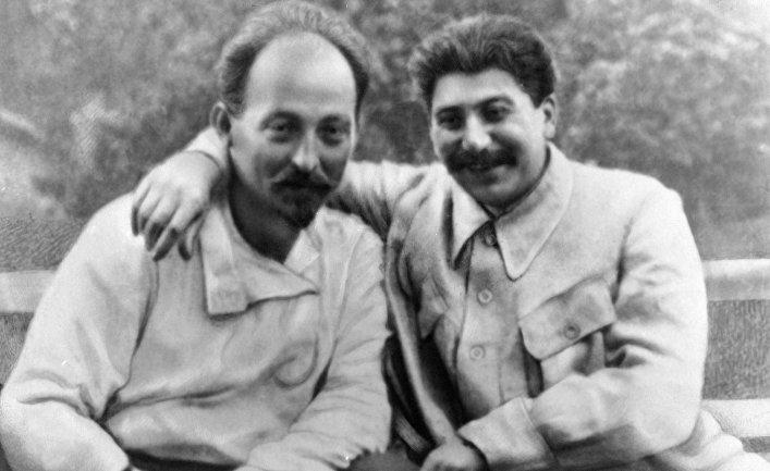 Felix Dzerjinski et Joseph Staline Ⓒ inosmi.ru